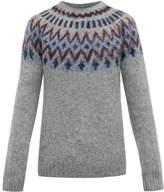 Howlin' - Future Fantasy Wool Sweater - Mens - Grey Multi