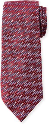Giorgio Armani Men's Textured Mulberry Silk Tie