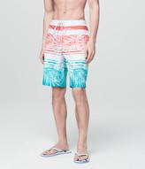 Palm Stripe Reflex Boardshorts