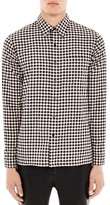 Sandro Checkers Slim Fit Button Down Shirt