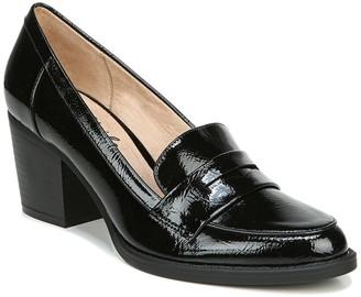 LifeStride Hudson Block Heel Loafer - Wide Width Available