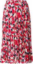 No.21 pleated patterned skirt
