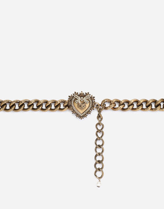 Dolce & Gabbana Chain Devotion Belt