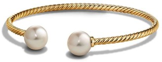 David Yurman Bead Bracelet with Gemstone in 18K Gold