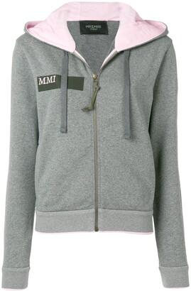 Mr & Mrs Italy pegasus embroidered hoodie
