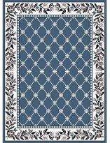 Dynamix Home Premium 7015-310 Polypropylene 7-Feet 8-Inch by 10-Feet 7-Inch Area Rug, Blue