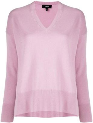 Theory Karenia v-neck cashmere jumper