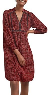 Gerard Darel Tara Heart Print Dress