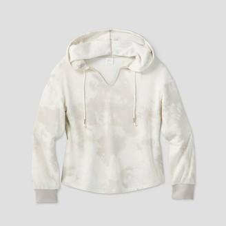 Stars Above Women's Tie-Dye Beautifully Soft Fleece Lounge Hooded Sweatshirt - Stars AboveTM XL