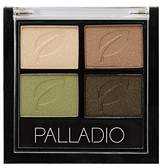 Palladio Eyeshadow Quad, Green To Go, 0.02 Ounce by