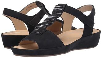 ara Chrissy (Blue Nubuck) Women's Sandals