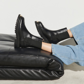 Sandro Ankle boots with notched sole