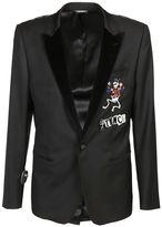 Dolce & Gabbana Skeleton Prince Appliqué Blazer