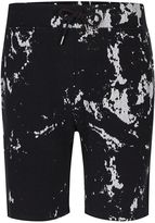 Dc Black And White Paint Splat Shorts