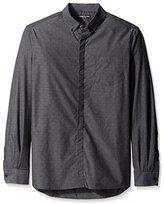 Kenneth Cole New York Men's Long Sleeve Dressy Shirt