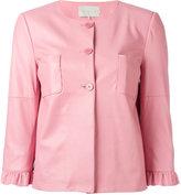 L'Autre Chose three-quarter sleeve jacket