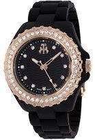 Jivago Women's JV8212 Cherie Analog Quartz Black Watch