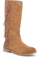 Lucky Brand Grayer Fringed Suede Boots