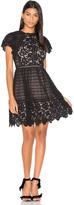 Rebecca Taylor Lace Mix Dress