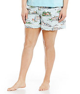 Sleep Sense Plus Lake Scene Sleep Shorts