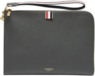 Thom Browne RWB Strap leather bag