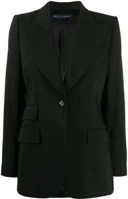 Dolce & Gabbana Single-Breasted Blazer