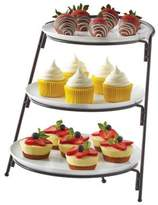 B. Smith 3-Tier Server with Graduated Size Plates