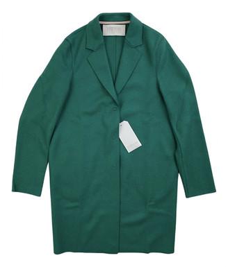 Harris Wharf London Green Wool Coats