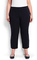 Classic Women's Plus Size Starfish Crop Pants-True Navy