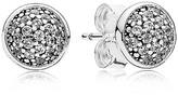 Pandora Earrings - Sterling Silver & Cubic Zirconia Dazzling Studs