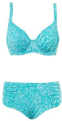Seaspray Grace Animal Underwired Bikini Top