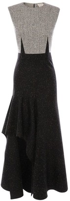 Alexander McQueen Knit Asymmetric Dress
