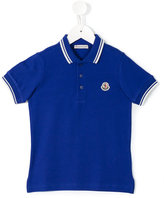 Moncler classic polo shirt - kids - Cotton - 5 yrs