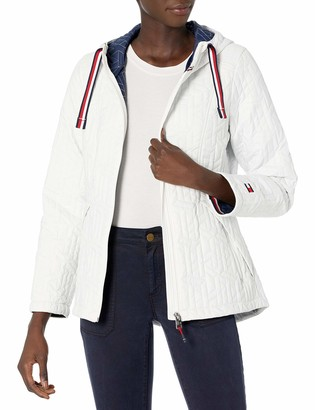 Tommy Hilfiger Women's Packable Logo Quilted Jacket