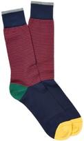 J.Mclaughlin Contrast Stripe Socks