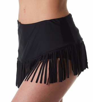 CoCo Reef Women's SWAY Convertible Fringe Layer Skirted Swim Bottom