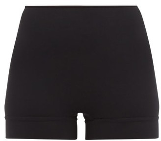 Wone High-rise Performance Shorts - Black