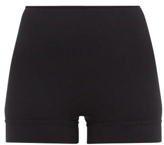 Wone - High-rise Performance Shorts - Womens - Black