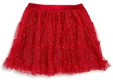 Bardot Junior Girls' Tiered Glitter Tutu Skirt - Sizes 4-7