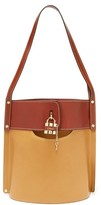 Chloé Aby Large Leather Bucket Bag - Womens - Brown