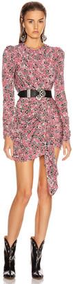 Isabel Marant Tonia Dress in Pink | FWRD
