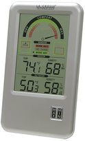 La Crosse Technology WS-917U-IT-CBP Comfort Meter with In/Out Temperature and Humidity