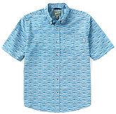 Woolrich Walnut Run Short-Sleeve Printed Woven Shirt