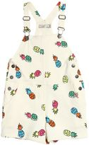 Stella McCartney Pineapple Heavy Cotton Jersey Overalls