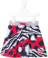 Kenzo animal print skirt