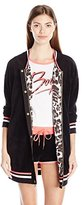 Juicy Couture Black Label Women's Ft Velour Bomber