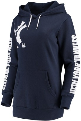 New York Yankees Women's G-III 4Her by Carl Banks Navy 12th Inning Pullover Hoodie