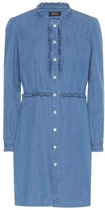 A.P.C. Hoshl denim shirt dress