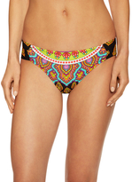 Trina Turk Moroccan Shirred Hip Bikini Bottom