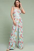 Adelyn Rae Floral Flutter Jumpsuit